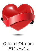 Royalty-Free (RF) heart Clipart Illustration #1164610