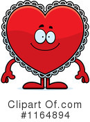 Royalty-Free (RF) Heart Clipart Illustration #1164894