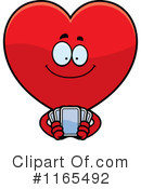 Royalty-Free (RF) Heart Clipart Illustration #1165492