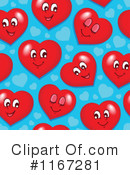 Royalty-Free (RF) Heart Clipart Illustration #1167281