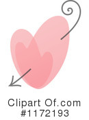 Royalty-Free (RF) Heart Clipart Illustration #1172193