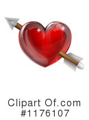 Royalty-Free (RF) heart Clipart Illustration #1176107