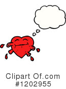 Heart Clipart #1202955 by lineartestpilot