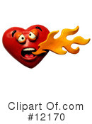 Royalty-Free (RF) Heart Clipart Illustration #12170