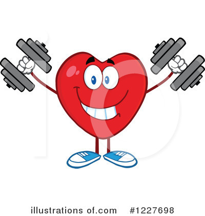 Heart Mascot Clipart #1227698 by Hit Toon