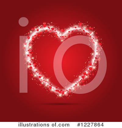 Heart Clipart #1227864 by KJ Pargeter