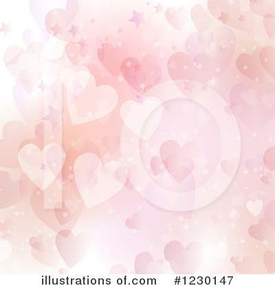 Hearts Clipart #1230147 by KJ Pargeter