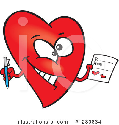 Valentines Day Clipart #1230834 by toonaday