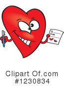 Royalty-Free (RF) Heart Clipart Illustration #1230834