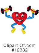 Royalty-Free (RF) Heart Clipart Illustration #12332
