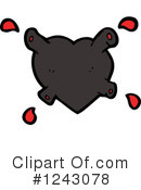 Heart Clipart #1243078 by lineartestpilot