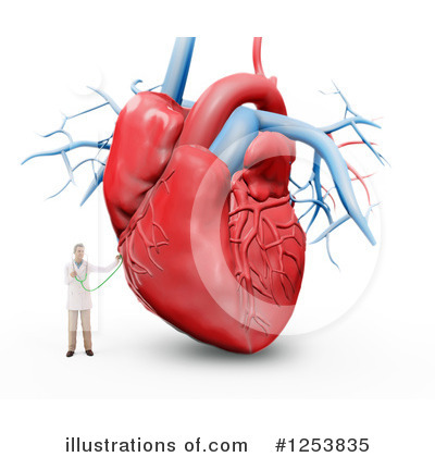Human Heart Clipart #1253835 by Mopic