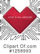 Heart Clipart #1258993 by Vector Tradition SM