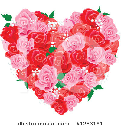 Roses Clipart #1283161 by Pushkin
