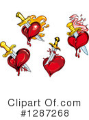Heart Clipart #1287268 by Vector Tradition SM