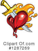 Heart Clipart #1287269 by Vector Tradition SM