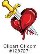 Heart Clipart #1287271 by Vector Tradition SM