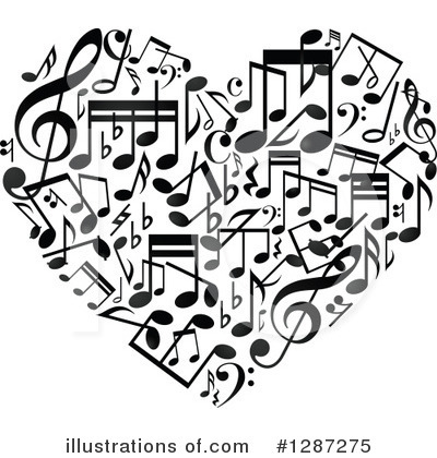 Music Clipart #1287275 by Vector Tradition SM