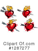 Heart Clipart #1287277 by Vector Tradition SM