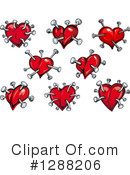 Heart Clipart #1288206 by Vector Tradition SM