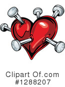 Heart Clipart #1288207 by Vector Tradition SM