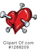 Heart Clipart #1288209 by Vector Tradition SM