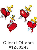 Heart Clipart #1288249 by Vector Tradition SM