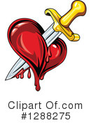 Heart Clipart #1288275 by Vector Tradition SM
