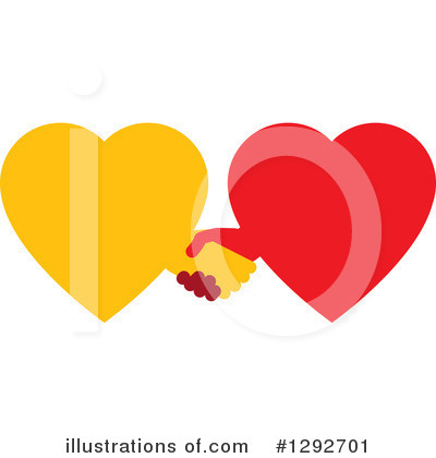 Royalty-Free (RF) Heart Clipart Illustration by ColorMagic - Stock Sample #1292701