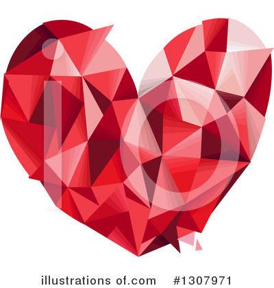 Heart Clipart #1307971 by BNP Design Studio