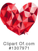 Royalty-Free (RF) Heart Clipart Illustration #1307971