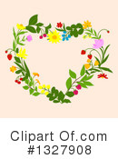 Heart Clipart #1327908 by Vector Tradition SM