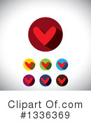 Heart Clipart #1336369 by ColorMagic