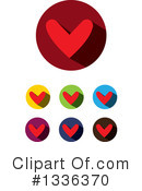 Heart Clipart #1336370 by ColorMagic