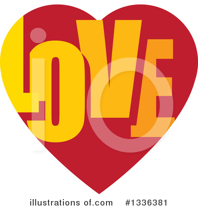 Heart Clipart #1336381 by ColorMagic