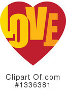 Royalty-Free (RF) Heart Clipart Illustration #1336381