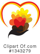 Heart Clipart #1343279 by ColorMagic
