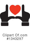 Heart Clipart #1343297 by ColorMagic