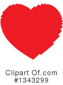 Heart Clipart #1343299 by ColorMagic