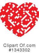 Heart Clipart #1343302 by ColorMagic