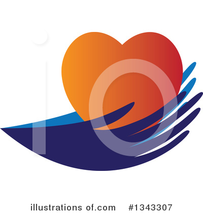 Royalty-Free (RF) Heart Clipart Illustration by ColorMagic - Stock Sample #1343307