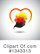 Heart Clipart #1343313 by ColorMagic