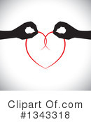 Heart Clipart #1343318 by ColorMagic