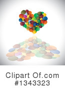 Heart Clipart #1343323 by ColorMagic