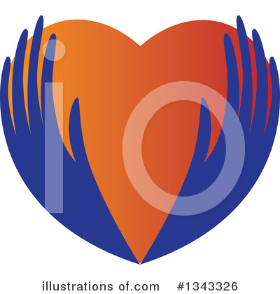Royalty-Free (RF) Heart Clipart Illustration by ColorMagic - Stock Sample #1343326
