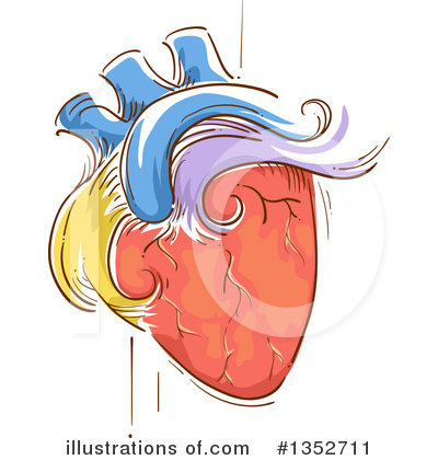 Royalty-Free (RF) Heart Clipart Illustration by BNP Design Studio - Stock Sample #1352711