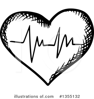 Ecg Clipart #1355132 by Vector Tradition SM