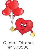 Royalty-Free (RF) Heart Clipart Illustration #1373500