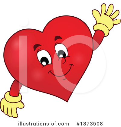 Heart Clipart #1373508 by visekart