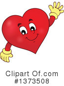 Royalty-Free (RF) Heart Clipart Illustration #1373508